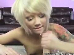 BJ, Handjob, Fingering, Cum!
