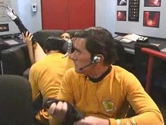 Star Trek parody with a slut in boots