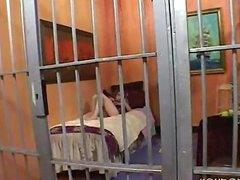 Big Pancake Tits Fucks In Jail