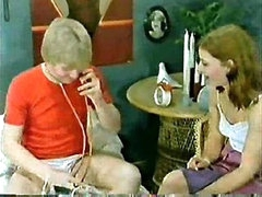 Classic Porn  Family-Kids play doctor and mom joins in Petite Dick!
