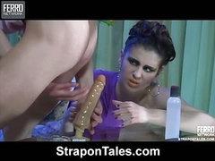Beatrice&Randolph kinky strapon video