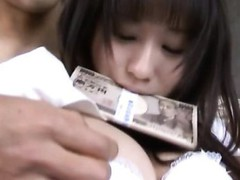 Naughty and amazingly hot Japanese girls give deep throat