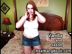 Breasty redhead loves to jill