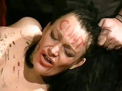 Humiliated british slavegirl in needle pang