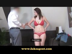 FakeAgent Pleasure with large natural mambos Casting