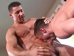 Hot looking dude licks his juicy dark hole